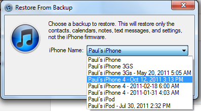 What 2pm backup?