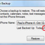 iOS5 Backup Timestamps?